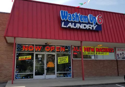 Wash'em Up #6 Store Front