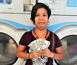 Wash'em Up #4 $100.00 August Winner!