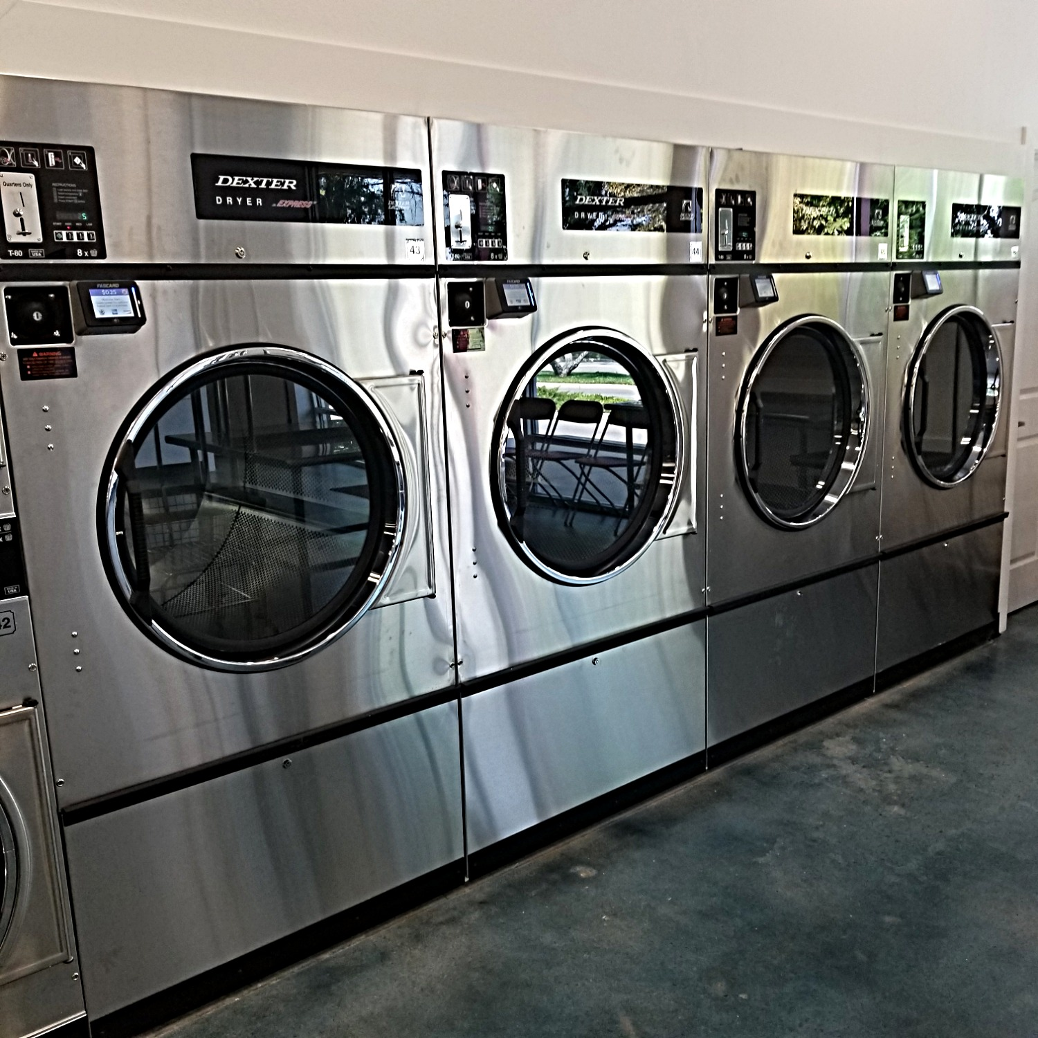 Wash'em Up 6 80lb Dryers