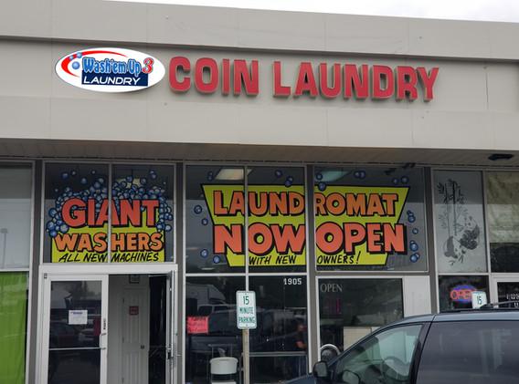 Wash'em Up #3 Store Front