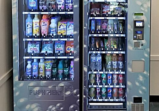 Wash'em Up#6 Supplies & Vended Snacks