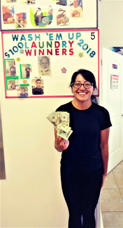 Wash'em Up #5 $100.00 August Winner!