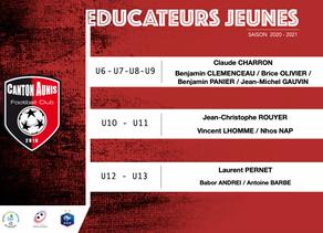 Educateurs Ecole de Foot - Saison 2020/2021