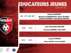 Educateurs Ecole de Foot - Saison 2020/2021