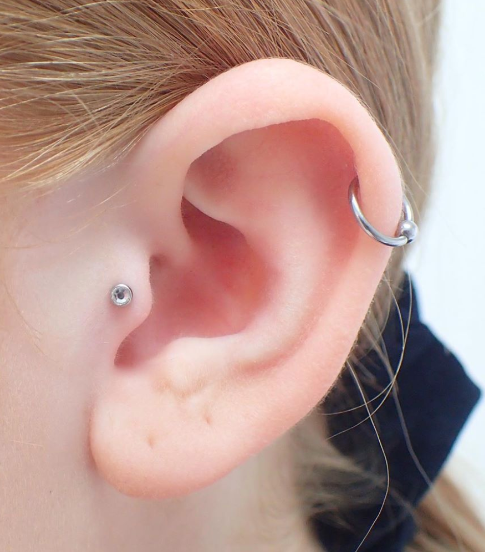 Tragus by Isobel