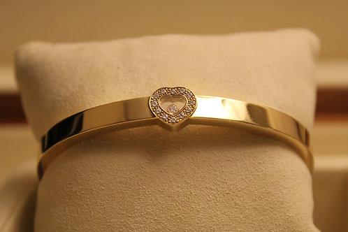 Chopard Happy Diamonds Bangle 18ct Gold