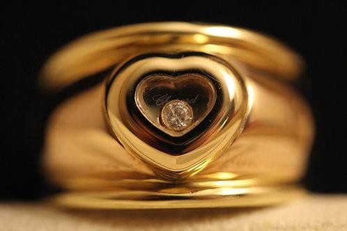 Chunky Heart Chopard Happy Diamonds Ring