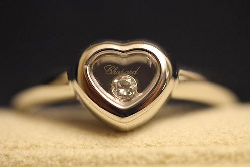 Chopard Heart Happy Diamond 18ct White Gold Ring