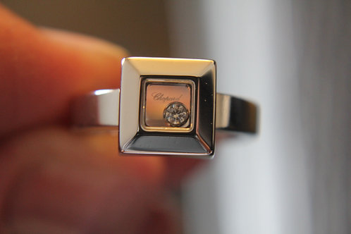Chopard Happy Diamond 18ct White Gold Ring