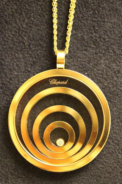 Chopard 18ct Gold Happy Spirit Necklace 4 Circles