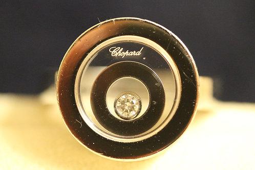 Chopard 18ct Gold Happy Spirit Ring 2 Circles