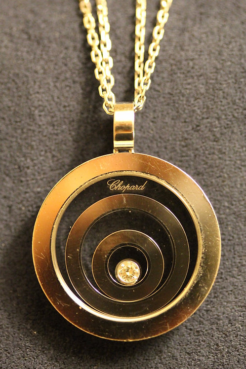 Chopard 18ct Gold Happy Spirit Necklace 3 Circles