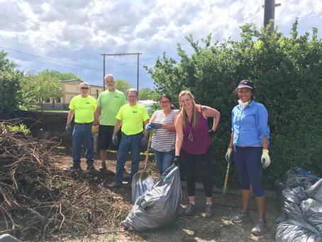 MApril Community Clean Up