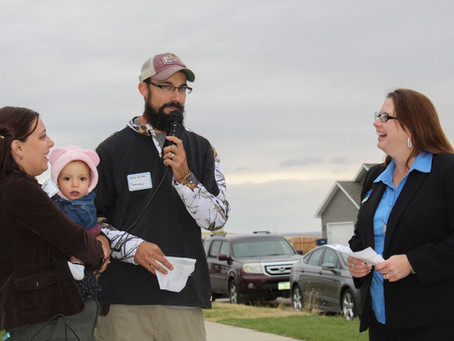 Eight Families Achieve Their Dream of Home Ownership by Building Their Own Home