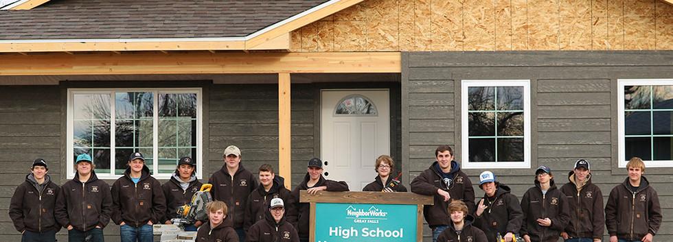 2018-2019 High School House Builders