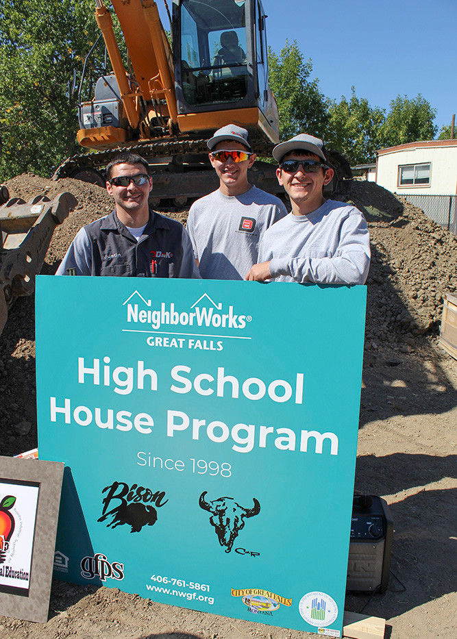 Family of High School House Builders