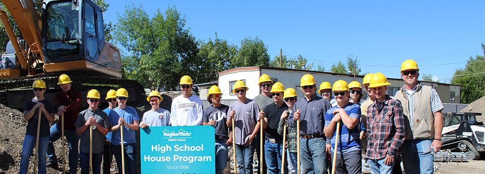 2019-2019 High School House Builders