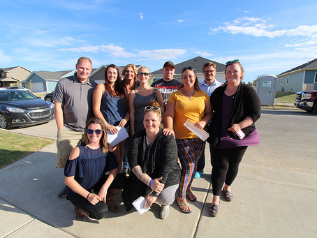 Building Homes, Building Dreams: Ten Local Families Build Their Own Homes