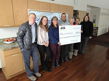 Family Promise: 2018 Coins for a Cause Recipient