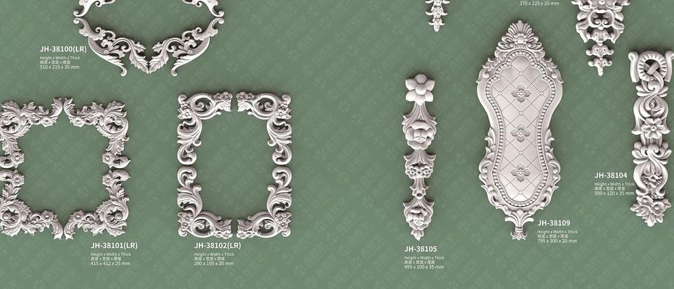 medallion Moulding -1