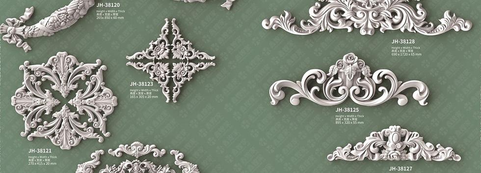 medallion moulding-2