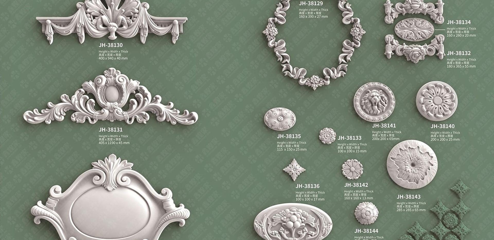 medallion moulding-3