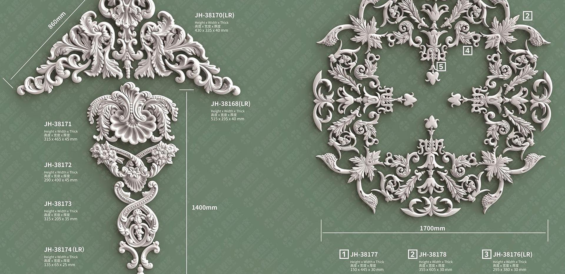 medallion moulding-5