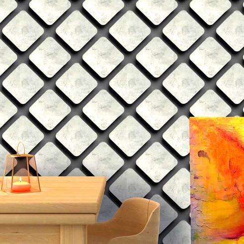 3D looking wallpaper