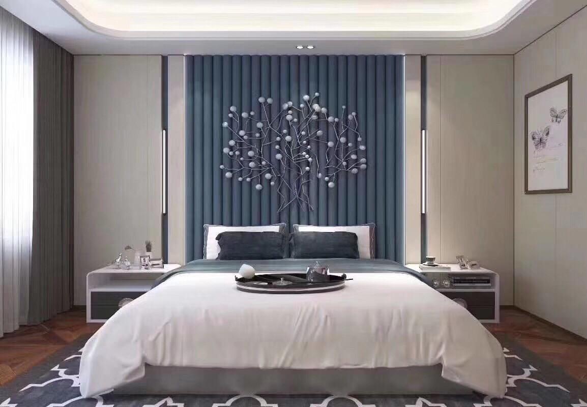 3D soft wall panels