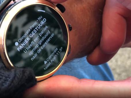 Fossil Smartwatch met Cinnovate App