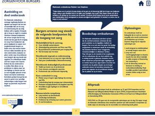 Rapport Ombudsman toegang tot zorg