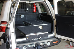 Toyota 200 series drawer system