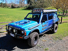 ford maverick nissan patrol full boar