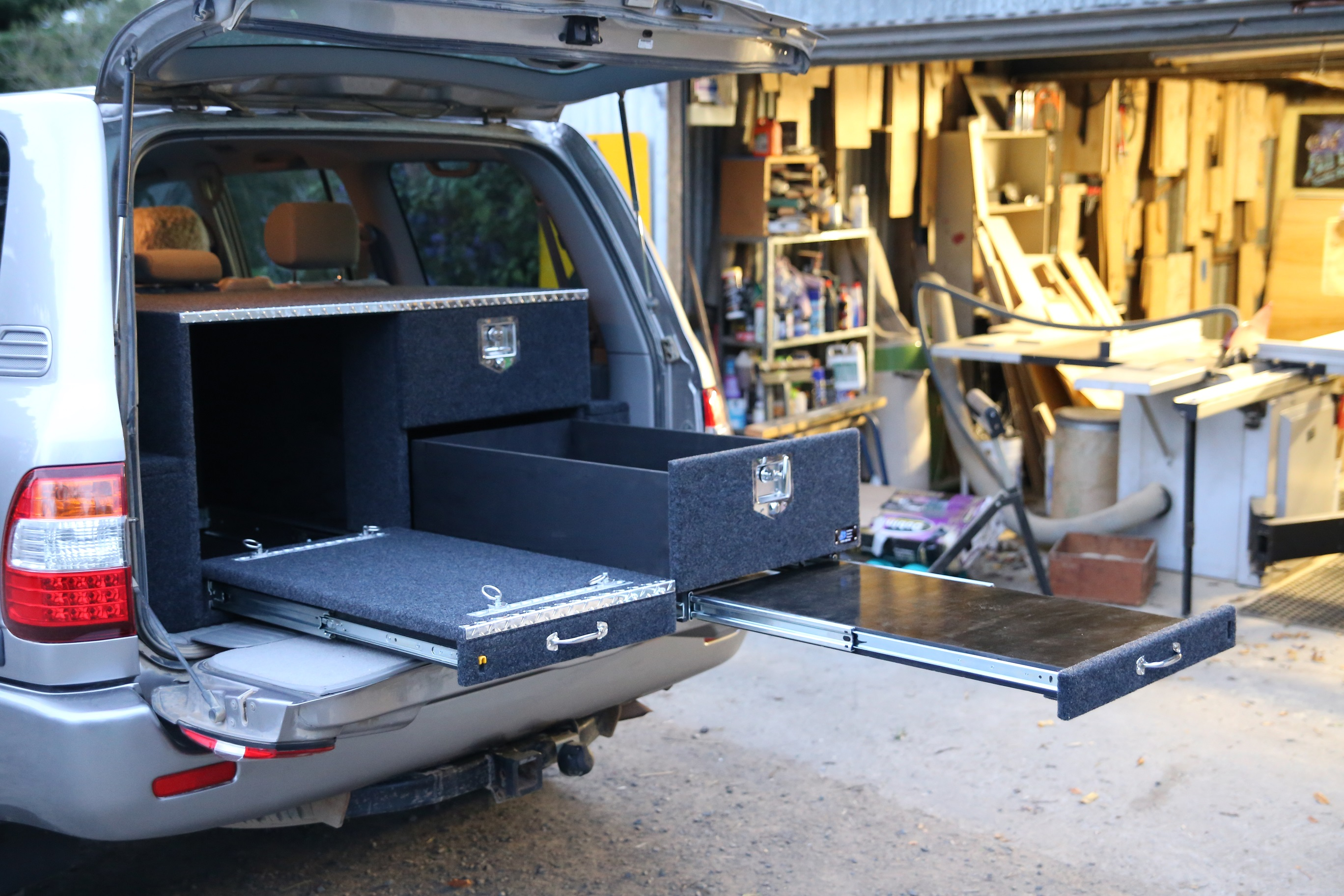 Burke System with added table combo