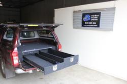 Isuzu D-Max storage system