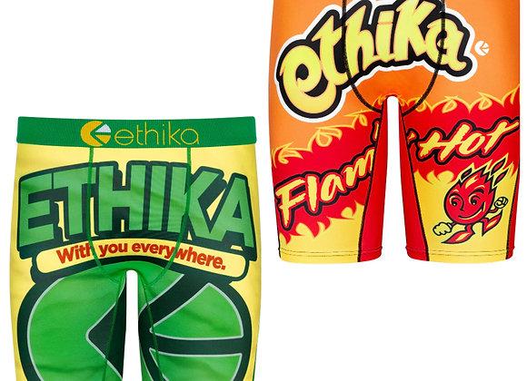 """2 Pc Ethika """"Snack Pack"""" Assorted  Men's Bomber Staples"""