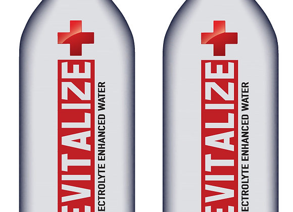 (10) 23.7 oz REVITALIZE Electrolyte Enhanced Water