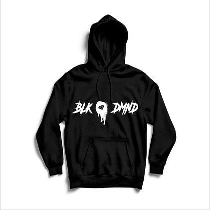 Unisex Black & White Logo BLK DMND Unisex Hoodie