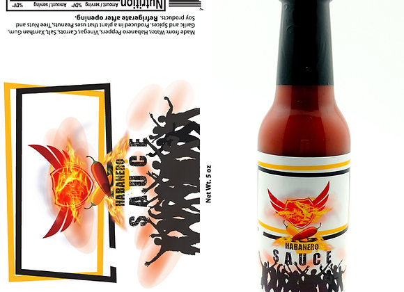 5oz Fly Boy Habanero Hot Sauce