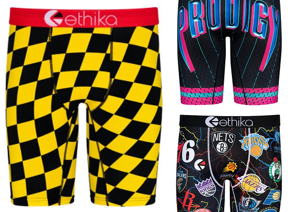 "3 Pc Ethika ""The Sports Package"" Assorted  Men's Bomber Staples"