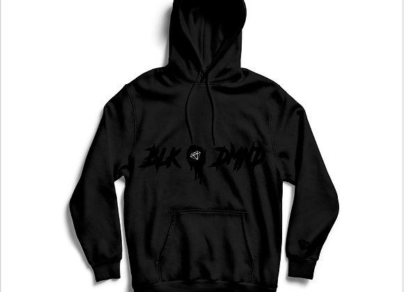 Unisex Triple Black BLK DMND Hoodie