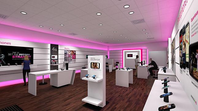 T-Mobile Interior
