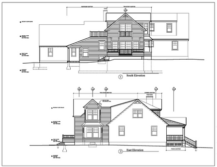 David Barbour Architects Drawing