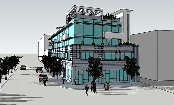 Bridgeport Building Rendering by David Barbour Architects