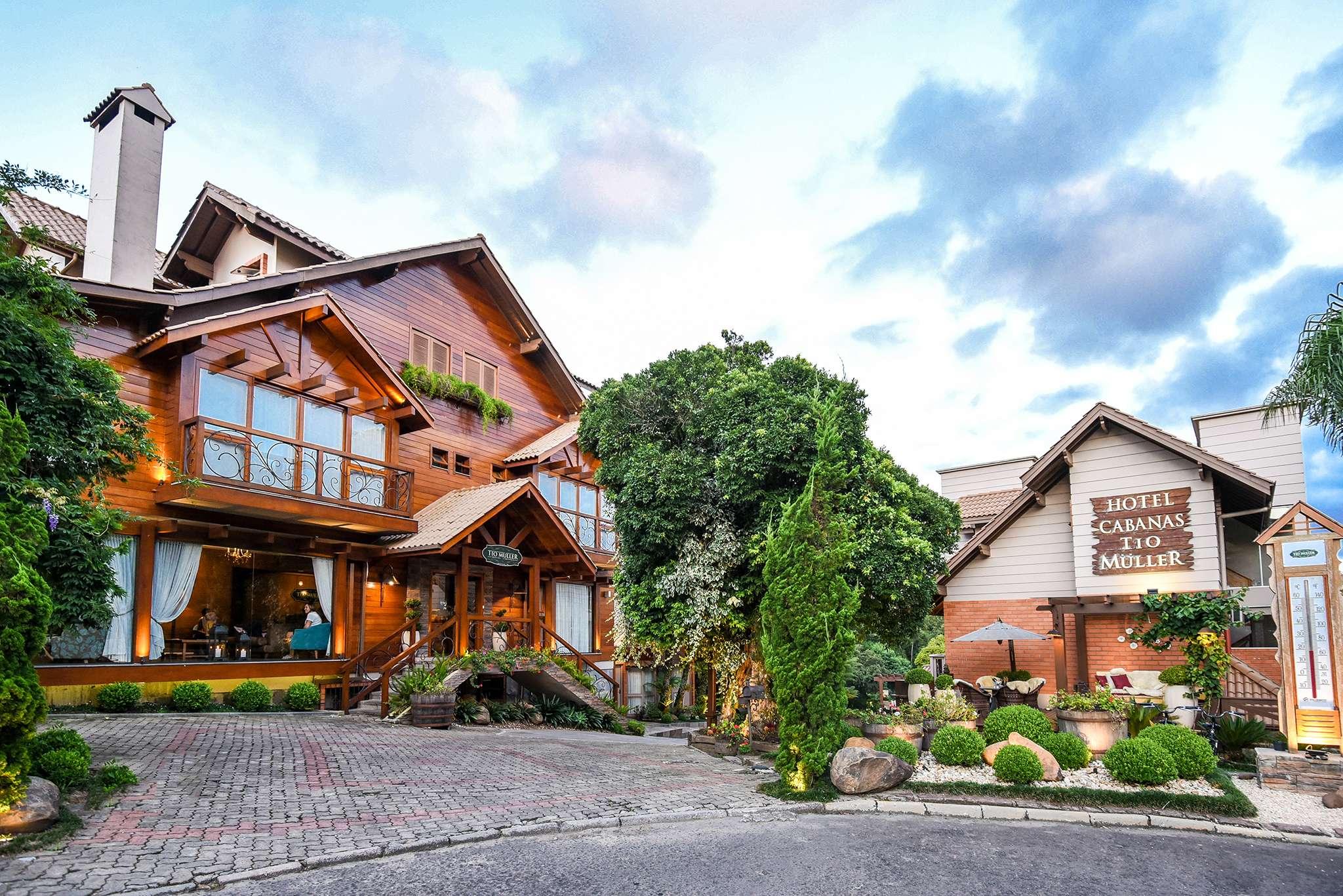 Hotel Cabanas Tio Muller em Gramado