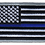 Thumbnail: American Flag - Blue Line Flag (Subdued)