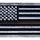 Thumbnail: American Flag - Brown Line Flag (Subdued)