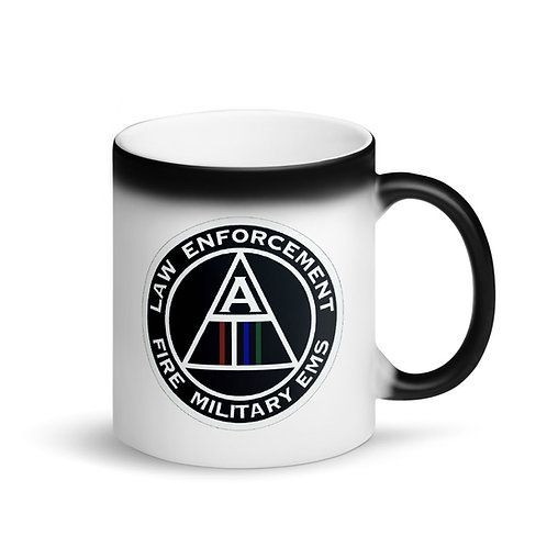 Alliance Matte Black Magic Mug
