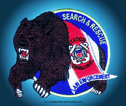Coast Guard Search and Rescue (4 inches)