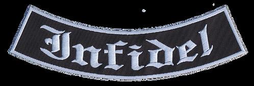 Infidel Rib Rocker (Old English Font)
